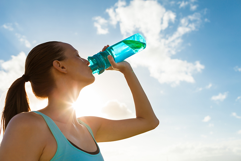 How hydration helps with weight loss