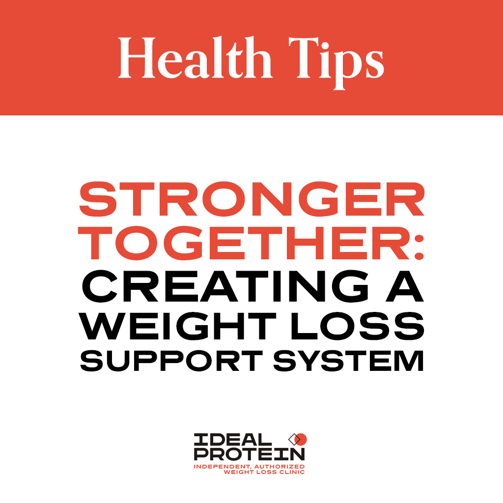 Stronger Together: Creating a Weight Loss Support System